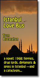 Istanbul Love Bus, a novel: 1968 hippies, Soviet spies, drug lords, & a plot to destroy a world monument