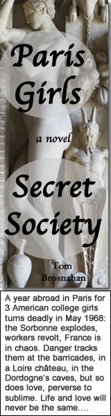 Paris Girls Secret Society, the new novel by Tom Brosnahan