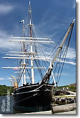 Charles W Morgan whaling ship, Mystic Seaport Museum, Connecticut