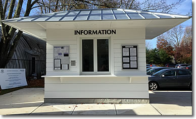 Guilford Preservation Alliance Information Booth, Guilford CT