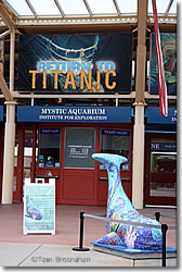 Mystic Aquarium Entrance, Mystic CT
