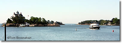 Thimble Islands, Connecticut Shoreline