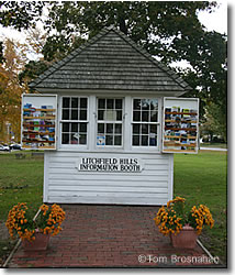 Information Booth, Litchfield CT
