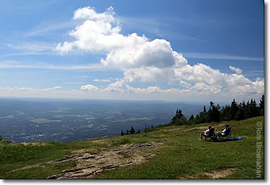 View from Mount Greylock, Berkshire Hills, Massachusetts
