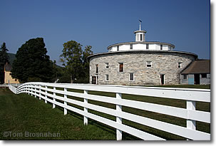 Round barn, Hancock Shaker Village, Pittsfield MA