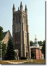 Church Tower, Williams College, Williamstown MA