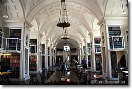 Reading Room, Boston Athenaeum, Boston MA
