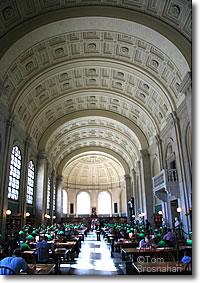 Boston Public Library Boston Massachusetts