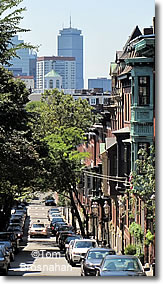 Street near Bunker Hill, Boston MA