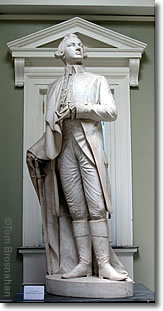 Dr Joseph Warren statue, Bunker Hill, Boston MA