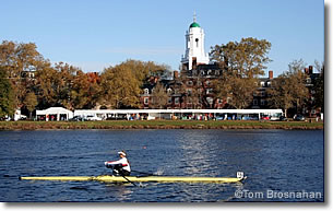 Rower on the Charles River, Cambridge MA