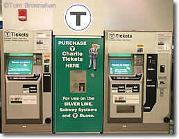 Subway Ticket Machines, Logan Airport, Boston MA