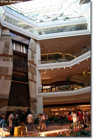 Coply Place shopping mall, Back Bay, Boston MA