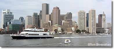 Boston Harbor Cruises boat, Boston MA