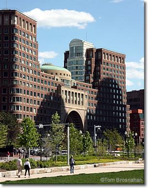 Boston Harbor Hotel Rose Kennedy Greenway Ma