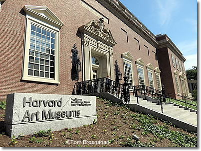 Harvard Art Museums, Quincy Street Entrance, Cambridge MA