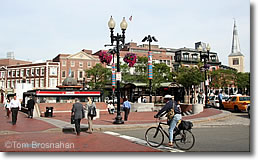 Harvard Square, Cambridge MA