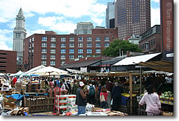 Haymarket Open-Air Market, Boston MA