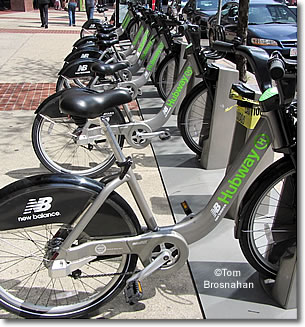 Hubway Bike Rental System, Boston MA