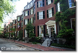 Louisburg Square, Beacon Hill, Boston MA