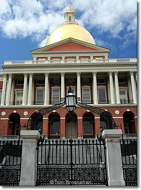 Massachusetts State House, Boston MA