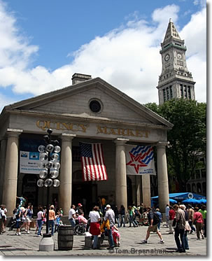Quincy Market & Custom House Tower, Boston MA