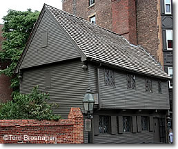 Paul Revere House Museum, Boston MA