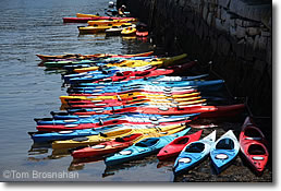 Colorful Kayaks, Rockport, Cape Ann MA