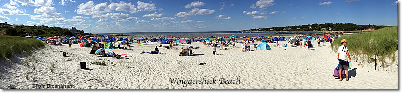 Wingaersheek Beach on Cape Ann, Gloucester, Massachusetts