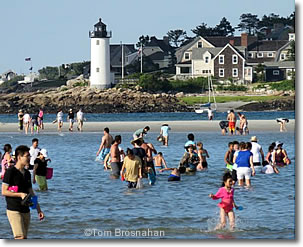 Wingaersheek Beach & Annisquam Light, Cape Ann, North Shore, Gloucester, Massachusetts