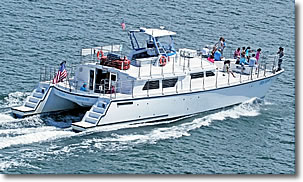 Bay Spirit Tours catamaran, Hyannis MA