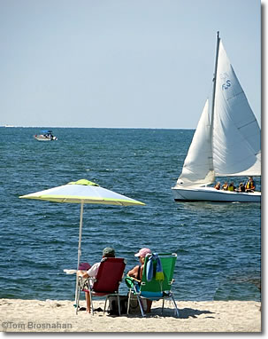 Summer beaches & boating on Cape Cod, Massachusetts