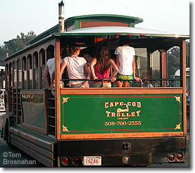 Cape Cod Trolley, Woods Hole MA