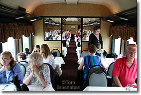 Dining Car, Cape Cod Central Railroad, Hyannis MA
