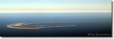 Tip of Cape Cod aerial view, Massachusetts
