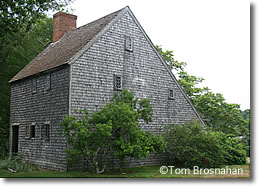 Hoxie House, Sandwich MA on Cape Cod