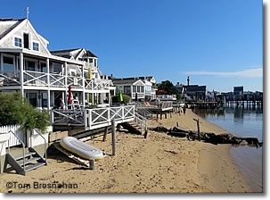 View of Provincetown, Cape Cod MA
