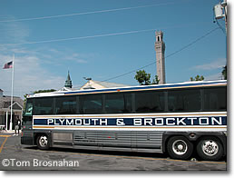 Plymouth & Brockton Bus, Provincetown MA