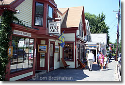 Downtown Wellfleet MA