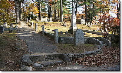 Authors Ridge, Sleepy Hollow Cemetery, Concord, Massachusetts