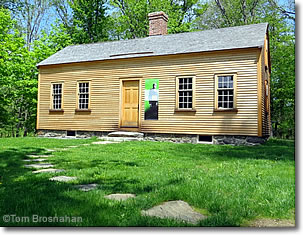 Caesar Robbins House, Minuteman National Historical Park, Concord MA