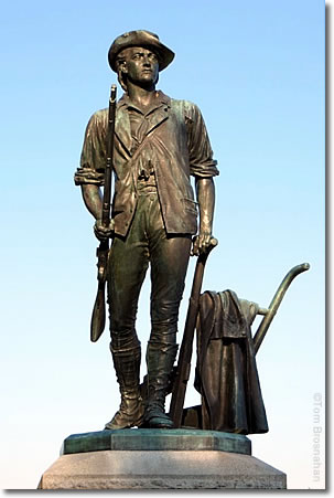 The Minuteman statue by Daniel Chester French, Concord, Massachusetts