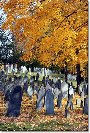 North Burying Ground, Concord, Massachusetts