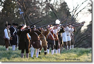 Dawn Salute on Patriots' Day, Old North Bridge, Concord MA