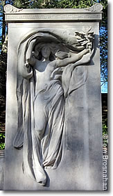Melvin Memorial by Daniel Chester French, Sleepy Hollow Cemetery, Concord, Massachusetts