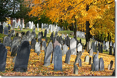 Old Hill (North) Burying Ground, Concord, Massachusetts