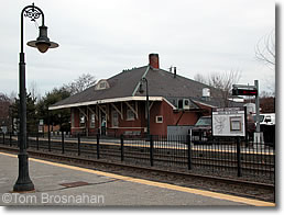 Cummuter Rail Train Station, West Concord MA