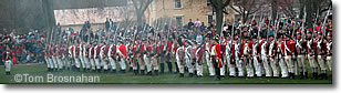 British redcoats, Patriots Day, Lexington MA