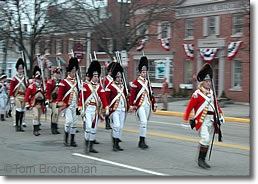 British Redcoats, Lexington MA