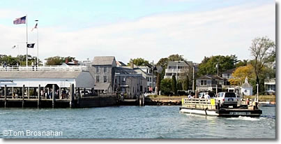 Chappy Ferry, Chappaquiddick, Martha's Vineyard, Massachusetts